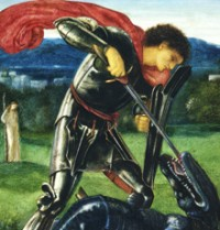 St. George (detail)
